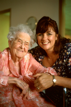 In Home Elder Care by Personal Support Specialists